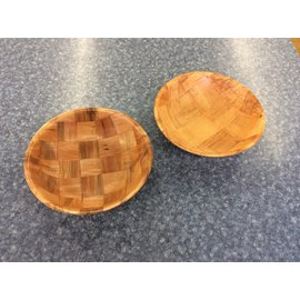 "10"" Wood bowl-set of 2 (3/23/2020)"