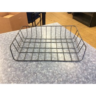 Black metal wire single paper tray (3/23/2020)