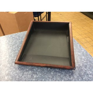 Wood/plastic single paper tray (3/23/2020)