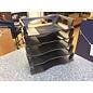 Black plastic 5 tier paper tray (3/23/2020)