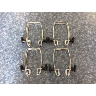 Over the door/panel chrome hooks 4pk (4/16/2020)