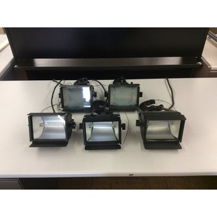 Professional stage/camer lighting - Untested 5pc Set (4/20/2020)