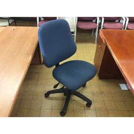 Blue high back desk chair (4/21/2020)
