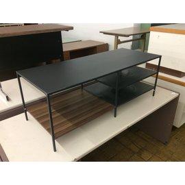"19 1/2x48x17 1/2"" Gray metal coffee table (4/21/2020)"