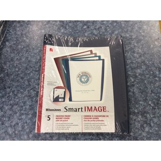 Blue Frosted Front Report Cover 5pk-New (4/23/2020)