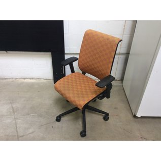 Orange pattern Steelcase Think office chair 9/2/20