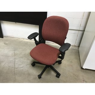 Maroon Steelcase Leap V1 Office Chair (8/25/2020)
