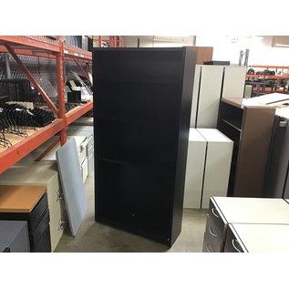 12x36x72 Black wood bookcase (10/6/20)