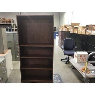 12x36x72 Oak colored book shelf 10/06/20