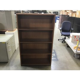13x36x57 Oak bookcase. (10/6/20)