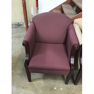 Mauve wooden sitting chairs (10/8/20)