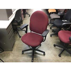 Maroon padded desk chair (10/13/2020)