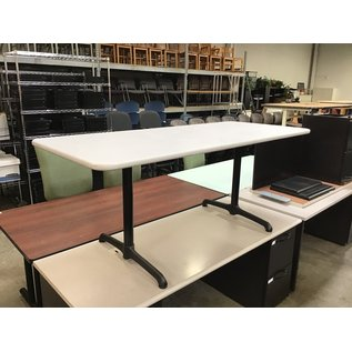 "30x70x29 1/2"" Gray top work table (10/13/2020)"