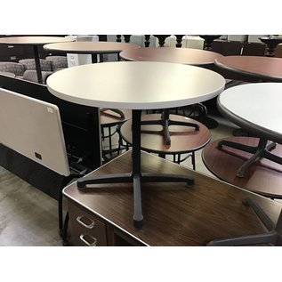 "36"" Lt gray round table (10/13/2020)"