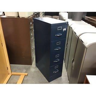 Blue 4 drawer vertical file cabinet (10/15/2020)
