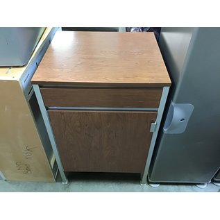"18x20x30"" Metal 1 drawer/1 door Cabinet (10/15/2020)"