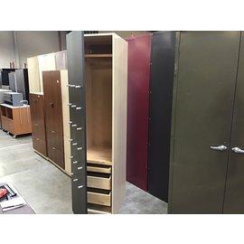 24x19 1/2x79 1 Door beige&black 3 drawer cabinet (10/15/20)