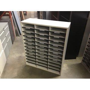 """11 3/4x29x35"""" Lt gray 36 slot mail unit (10/20/2020)"""