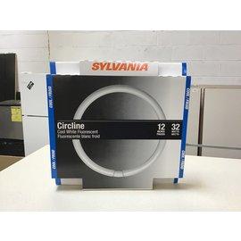 """Sylvania Circline 12"""" 32W Cool White Fluorescent Bulb (10/20/2020)"""