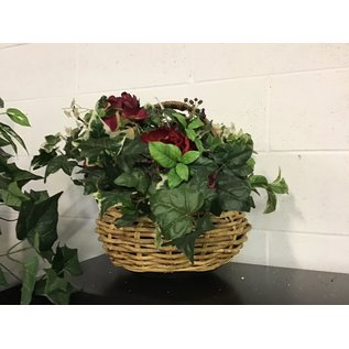 Large artificial plant in basket (10/20/2020)