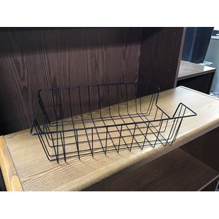 Black metal wire legal paper tray (10/20/2020)