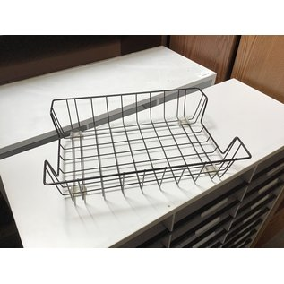 Black metal wire paper tray (10/20/2020)