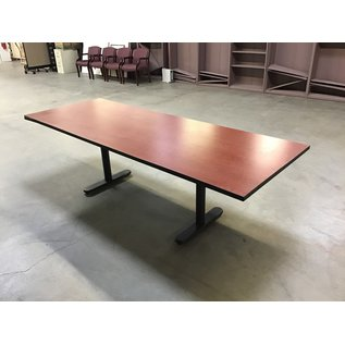"""36x96x29"""" Cherry top conference table (10/21/2020)"""