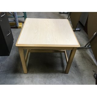"""27x27x22"""" Blonde wood end table (10/21/2020)"""