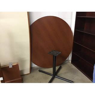 """60"""" Cherry wood round conference table (10/21/2020)"""