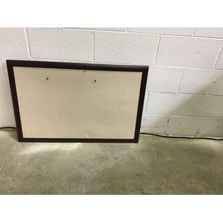 24x36 Corkboard dark frame (10/28/20)