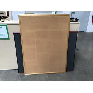 36x48 Cork board wood frame (10/28/20)