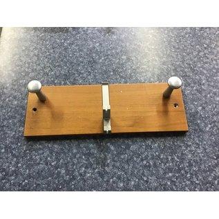 """6x18x3/4"""" Wood wall mount coat rack (10/30/2020)"""