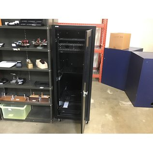 "24x34x64 1/2"" Black server rack (11/5/2020)"