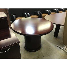 "42"" Cherry wood round table (1//5/2020)"