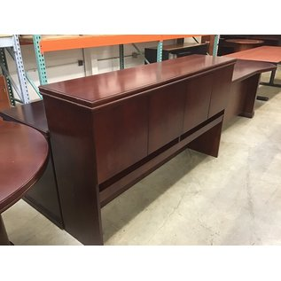 "22 1/2x65 1/2x29"" Cherry wood credenza w/hutch (11/5/2020)"