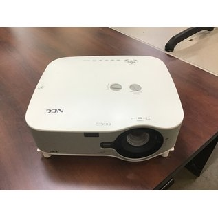Nec NP3250W LCD Projector-505 lamp hrs (11/5/2020)