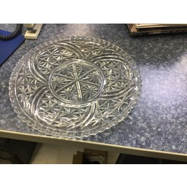 "12 1/2"" glass tray (11/10/20)"