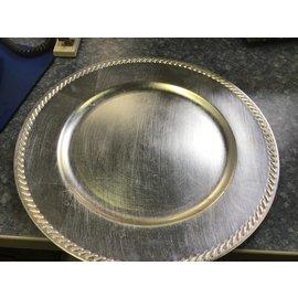 """13"""" round plastic tray (11/10/20)"""