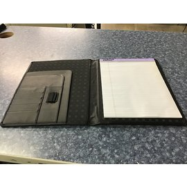 "13""x10"" black notepad (11/11/20)"