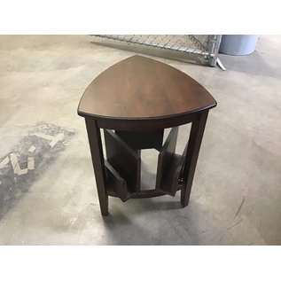 """16x16x16x24"""" Wood triangle end table (11/19/2020)"""