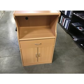 "16x24x42"" Wooden table stand 1drawer/2doors (1/14/21)"