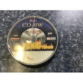 Pengo CD-RW  discs 25 discs (2/3/21)