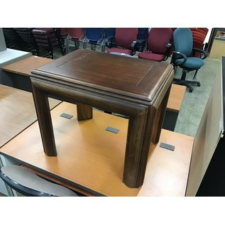 """22x28x23 1/2"""" Wood end table (3/4/21)"""