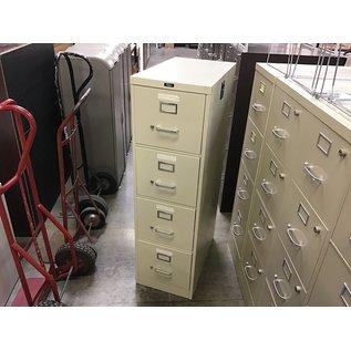 Beige Filex 4 drawer vertical file cabinet (3/4/21)