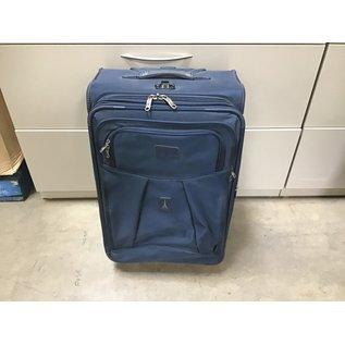 Blue medium suitcase (3/11/2021)