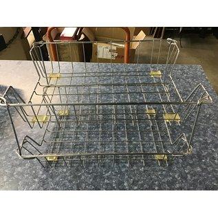 Silver metal 2 rack paper tray (4/1/2021)