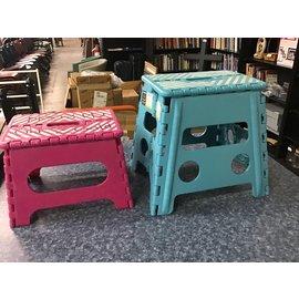 Set of 2 folding step stools (4/7/21)