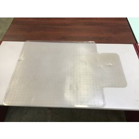 "35 3/4x47"" Plastic chair mat (4/7/2021)"