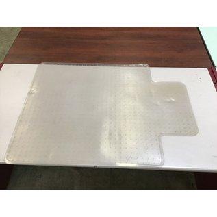 "35 3/4x47"" Plastic chair mat (4/7/2021)"