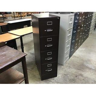 Dk brown Steelcase 4 dr vertical file cabinet (4/7/2021)